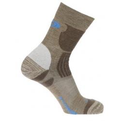 Salomon Hiking EXIT 羊毛登山襪(棕色,102241)