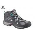 法國SALOMON 女GTX中筒登山鞋 #367108