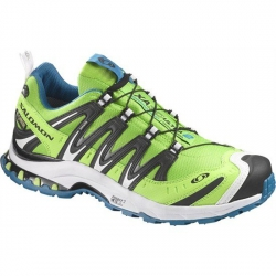Salomon XA Pro 3D Ultra 2 GTX 男款越野跑鞋 (螢綠/白#356817/UK9號)七五折出清