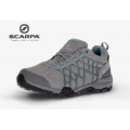 SCARPA義大利 Women''s Hydrogen GTX Walking Shoe 女款 低筒登山鞋 63330-202 灰綠 EU41