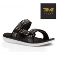 TEVA M TERRA-FLOAT SLIDE 男款 水陸運動涼鞋-黑白USA 9號 #TV1009814TBGY