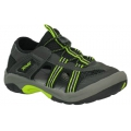 TEVA 0327 K Omnium 2 兒童水陸兩用護趾越野運動涼鞋(黑色/USA1 號 ) 五五折出清