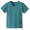 The North Face W Flight Tee 女款短袖排汗衫(天藍色/ XS , S ) 五折出清