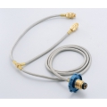Wen Liang 文樑 ST-2003  一對二瓦斯桶雙孔轉接頭