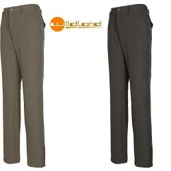 Wildland  女性 彈性透氣抗UV長褲0A01303-63-深卡其色M號 (七折出清)