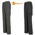 Wildland  女性彈性透氣抗UV調節長褲-深鐵灰色(圖右)XL號-0A01305-96/六折出清