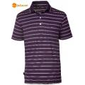 Wildland 荒野 男款涼感紗短袖POLO排汗衫0A01618-79(深紫色XL號/四折出清)