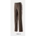 Wildland 荒野 0A22323-63 女款彈性防潑水防風保暖長褲(深卡其L號)
