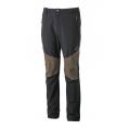 Wildland 男款四向彈性褲頭鬆緊帶長褲 0A31328-54黑色