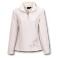 Wildland 荒野 女款 TECNOPILE 輕量刷毛保暖上衣(白色,82503)