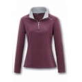 Wildland 荒野 女款 TECNOPILE 輕量刷毛保暖上衣#82505-深芋紫色S號