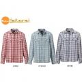 Wildland 荒野 男性格紋抗UV可調節休閒襯衫--橘紅XL號 #91210-13/零碼四折出清