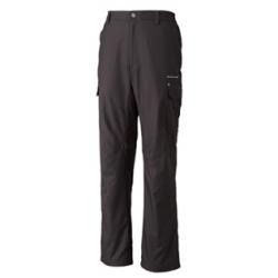 Wildland  男性防潑水防風保暖長褲9231895-鐵灰色S、XL號