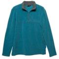 Wildland 荒野 男款雙色麻花PILE保暖上衣-92510(海藍色M、XL號/四折出清)