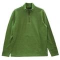 Wildland 荒野 男款雙色條紋PILE保暖上衣- 9251603(綠色XL號/四折出清)