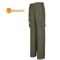 Wildland  男性彈性透氣抗UV調節長褲-鐵灰色-OA01326-82