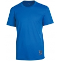 Wildland 荒野 男款疏水纖維短袖排汗衫(中藍色,OA01630-77)
