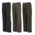Wildland  男性經典款防風防潑水保暖長褲W230254-黑色