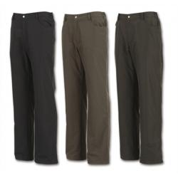 Wildland  男性經典款防風防潑水保暖長褲 W230263-深卡色